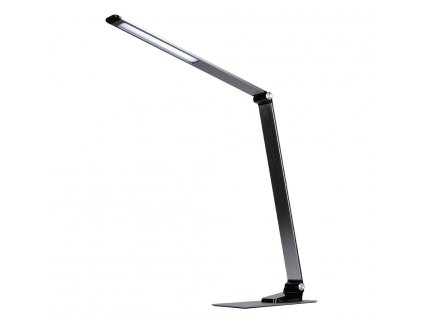 Solight LED stolní lampička stmívatelná, 11W, změna chromatičnosti, broušený hliník, stříbrná  + Dárek zdarma