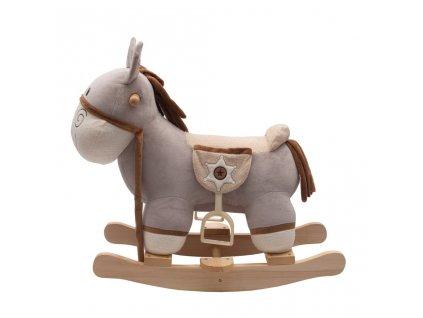 Houpací hračka s melodií PlayTo Donkey - fialová  + Dárek zdarma