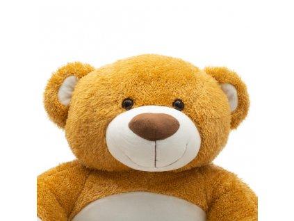 Dětské křesílko PlayTo medvídek - hnědá