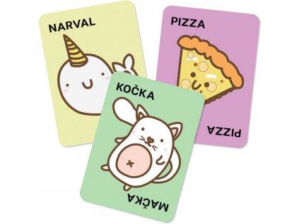 ALBI HRA Taco, kočka, koza, sýr, pizza karetní *SPOLEČENSKÉ HRY*