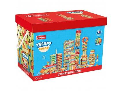 Jeujura Dřevěná stavebnice Técap Color 500 dílů  + Dárek zdarma