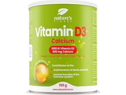 Nutrisslim Vitamin D3 1000iu + Calcium 800 mg 150 g