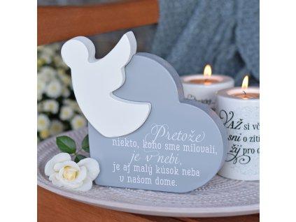 Srdce s andělem - Nebe v našem domě SK