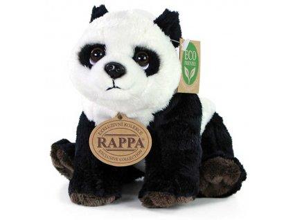 PLYŠ Medvídek Panda sedící 18cm Eco-Friendly *PLYŠOVÉ HRAČKY*