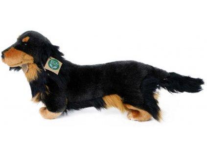 PLYŠ Pes Jezevčík stojící 36cm Eco-Friendly *PLYŠOVÉ HRAČKY*
