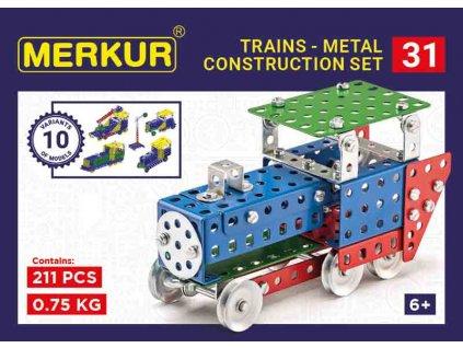 Merkur 031 Železniční modely, 211 dílů, 10 modelů
