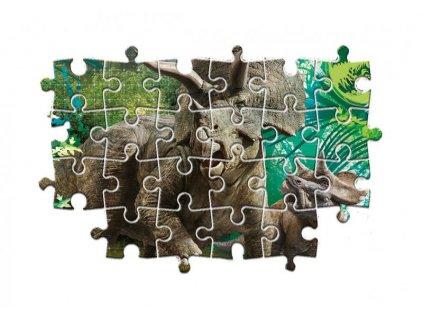 Puzzle 3x48 dílků - Jurský svět