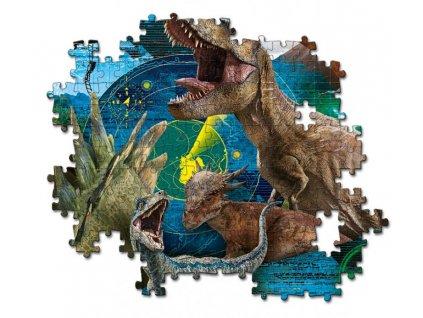 Puzzle 104 dílků - Jurský svět