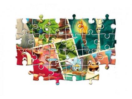 Puzzle 2x60 dílků - Gigantosaurus