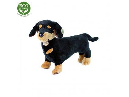 Plyšový pes jezevčík 45 cm ECO-FRIENDLY