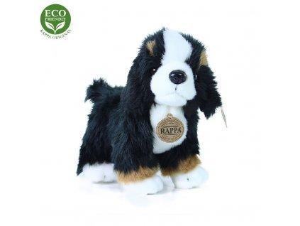 Plyšový bernský salašnický pes stojící 24 cm ECO-FRIENDLY