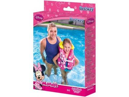 BESTWAY Vesta dětská plavací nafukovací 51x46cm do vody Minnie