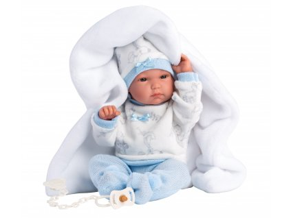 Llorens New Born chlapeček 63571  + Dárek zdarma