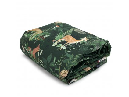 Dětská deka Velvet 75 x 100 cm Woodland  + Dárek zdarma