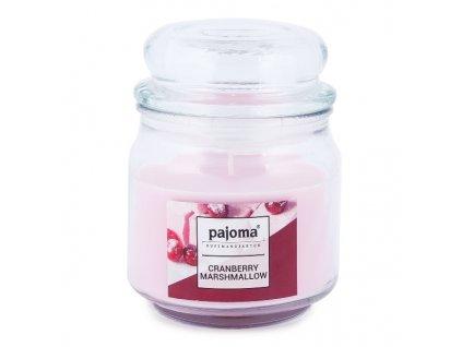 Vonná svíčka XXL ve skle Pajoma - Mashmallow brusinka