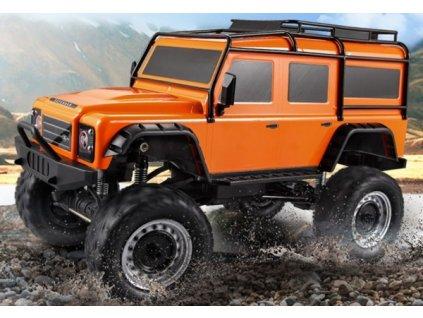 Land Rover Defender 1/8 - 50cm - oranžový  + Dárek zdarma