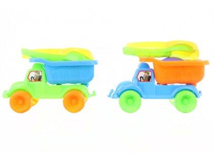 Auto na písek