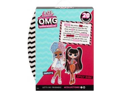 L.O.L. Surprise! OMG Velká ségra SPICY BABE panenka 20 překvapení