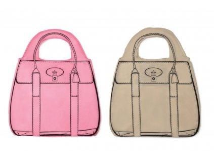 Módní nákupní taška - kabelka