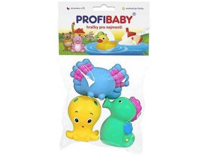 PROFIBABY Baby zvířátka mořská do vody set 3ks v sáčku pro miminko