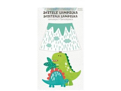 Svítící lampička - Dinosaur