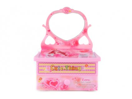 Hrací skříňka šperkovnice
