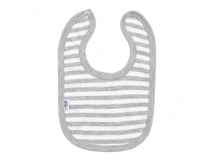Kojenecký bavlněný bryndák New Baby Zebra exclusive - bílá