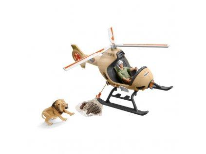 Záchranný vrtulník pro zvířata