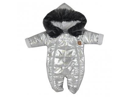 Zimní kojenecká kombinéza s kapucí Koala Lara  + Nanopodložka, loupač, nebo desinfekce