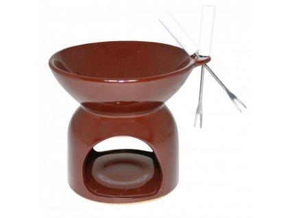 Čoko Fondue - hnědá