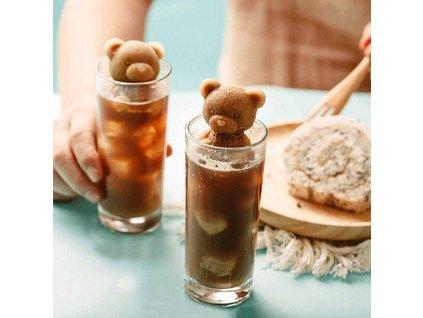 Forma na led- medvídek
