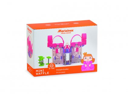 Marioinex MINI WAFLE – Princezna (velká)  + Nanopodložka, loupač, nebo desinfekce