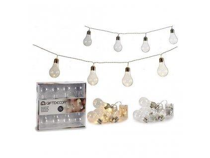Světelná páska LED žárovky x 8