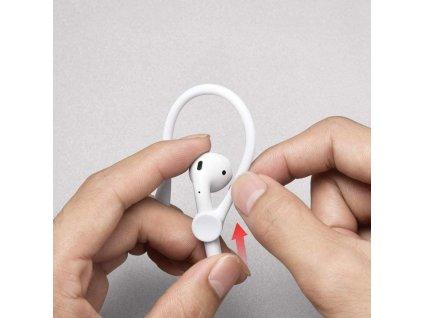 Držák sluchátek za ucho