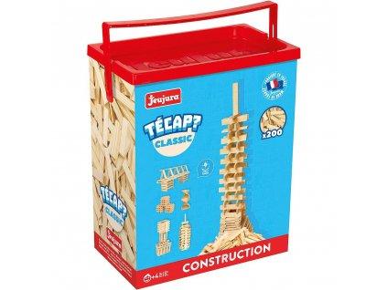 Jeujura Dřevěná stavebnice Técap Classic 200 dílů