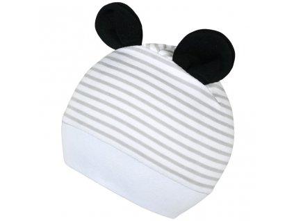Dětská čepička New Baby Panda