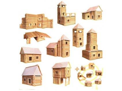 WALACHIA Vario XL 33W21 dřevěná stavebnice  + Dárek zdarma