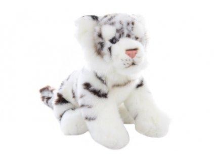 Plyš Tygr bílý 25 cm