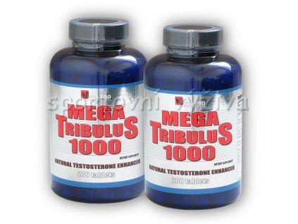 2x Mega Tribulus 1000 200 tablet