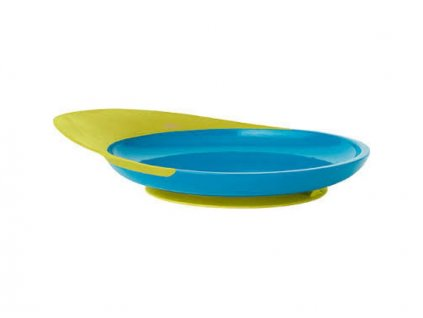 Boon - CATCH PLATE - Talíř s přísavkou modro-zelený