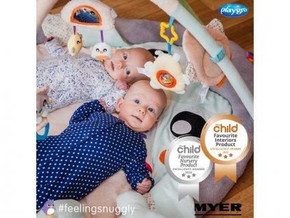 Playgro - Luxusní hrací deka Tučňák  + Dárek zdarma