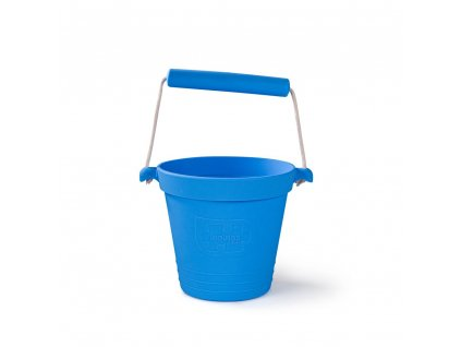 Bigjigs Toys Plážový kyblíček modrý