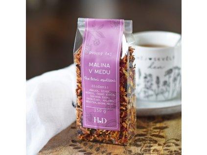 Ovocný čaj - Malina v medu