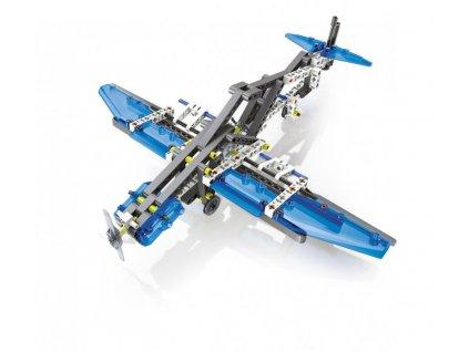 Mechanická laboratoř - Letadla a vrtulníky, 10 modelů, 200 dílků