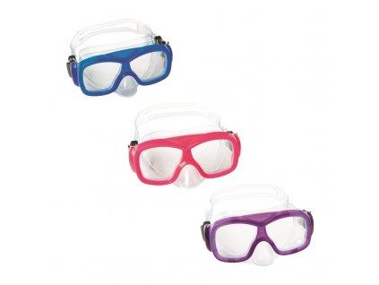 Potápěčské brýle AQUANAUT - mix 3 barvy (růžová, fialová, modrá)