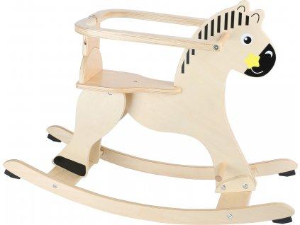 Small Foot Dřevěný houpací kůň s ochrannou opěrkou