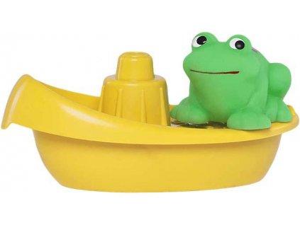 PROFIBABY Baby lodička do vody set se zvířátkem různé druhy pro miminko