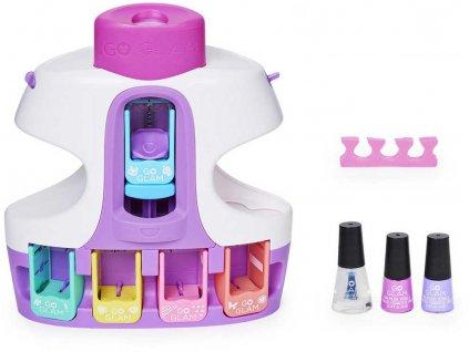 SPIN MASTER Cool maker dětský nehtový salón se sušičkou na baterie a 3 laky