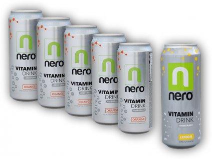 5x Nero Active ZERO 330ml + 1x 500ml