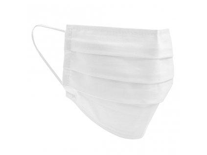 Textilní Rouška 2 ks v balení - bílá/univerzální